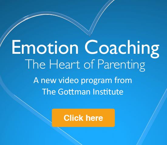 Gottman Institute Emotion Coaching